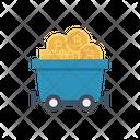 Coal Bitcoin Crypto Icon