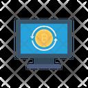 Bitcoin Reload Screen Icon