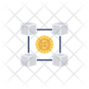 Bitcoin Cryptocurrency Chain Icon
