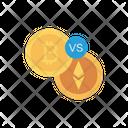 Bitcoin Compass Direction Icon