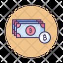 Mbitcoin Bitcoin Banknotes Icon