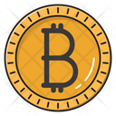 Bitcoin Currency Crypto Icon