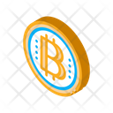 Bitcoin Coin Outlie Icon