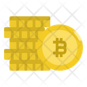 Bitcoin Money Digital Icon