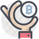 Bitcoin Payment Sale Icon