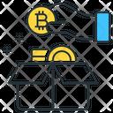 Bitcoin Ico Box Icon