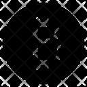 Shopping Bitcoin Ecommerce Icon
