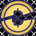 Bitcoin Bitcoin Cut In Half Bitcoin Halving Icon