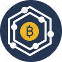 Bitcoin Bitcoin Network Blockchain Icon