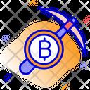 Bitcoin Bitcoin Mining Mining Icon
