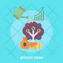 Bitcoin Grow Finance Icon
