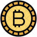Bitcoin Currency Digital Wallet Icon