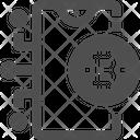 Bitcoin Bitcoin Network Bitcoin Connection Icon
