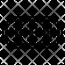 Bitcoin Bank Digital Icon