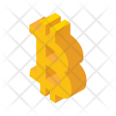 Bitcoin Money Currency Icon