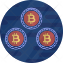 Multicoin Coin Bitcoin Icon