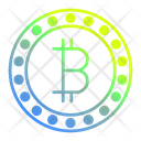 Bitcoin Banking Business Icon