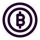 Bitcoin Cryptocurrency Crypto Icon