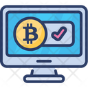 Bitcoin Accepted Account Icon