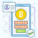 Bitcoin Account Icon