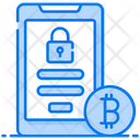 Bitcoin Account Electronic Cash Online Cryptocurrency Icon
