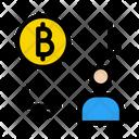 Bitcoin Accountant Banking Icon