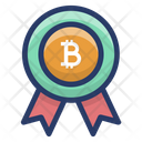 Bitcoin Achievement Icon