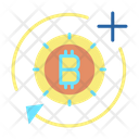 Bitcoin Add And Sync Icon
