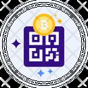 Bitcoin address Icon