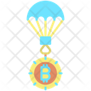 Bitcoin Air Balloon Icon