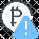 Bitcoin Alert Icon