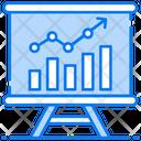 Bitcoin Analysis Growth Analysis Sales Report Icon