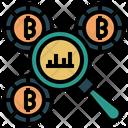 Bitcoin Analysis Icon