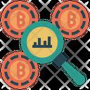 Bitcoin Analysis Analysis Data Icon
