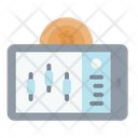 Bitcoin Analysis Application Cryptocurrency Bitcoin Icon