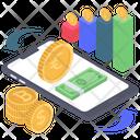 Bitcoin Analytics Icon