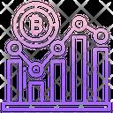 Bitcoin Analytics Bitcoin Analysis Bitcoin Chart Icon
