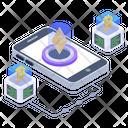 Business App Bitcoin App Mobile Application Icon