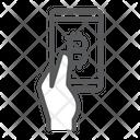 Bitcoin App Bitcoin Mobile Payment Bitcoin Icon