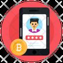 Bitcoin Password Online Account Bitcoin App Account Icon