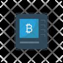 Atm Bitcoin Bank Icon