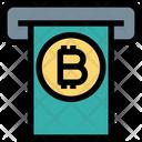 Bitcoin Atm Cryptocurrency Transaction Bitcoin Transaction Icon