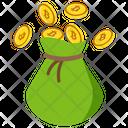 Bitcoin Cash Bitcoin Bag Bitcoin Sack Icon