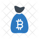 Bag Bitcoin Saving Icon