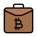 Bag Briefcase Bitcoin Icon