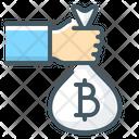 Bag Bitcoin Cash Icon