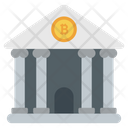Bitcoin Bank Icon