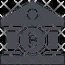 Bitcoin Bank Icon