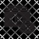 Bitcoin Money Bank Icon