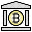 Bitcoin Bank Cryptocurrency Digital Currency Icon